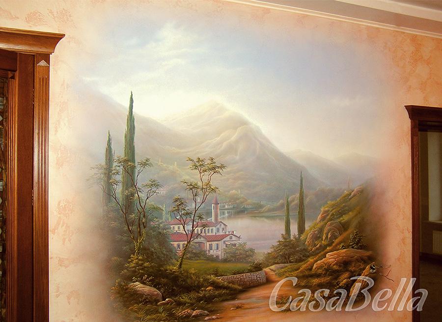 Картины на стенах своими руками фото